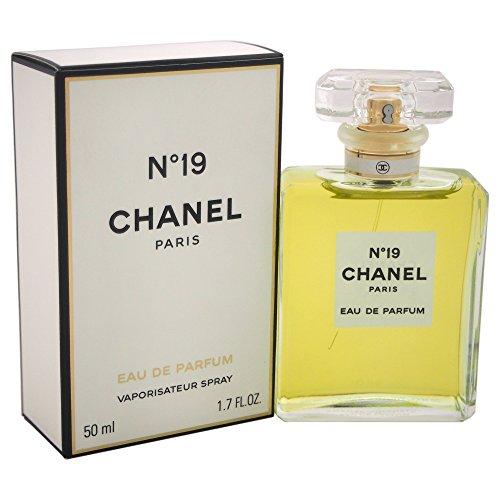 Chanel No, 19 Eau de Parfum Spray, 1er Pack, (1x 50 ml)