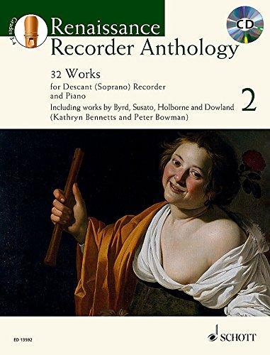 Renaissance Recorder Anthology Vol. 2  +CD