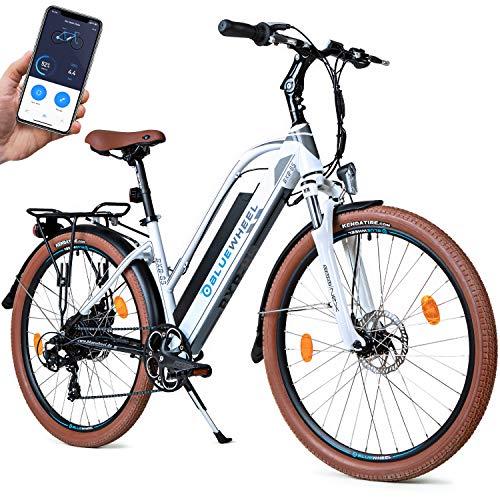 Bluewheel Bicicleta eléctrica Mujer 26 Pulgadas