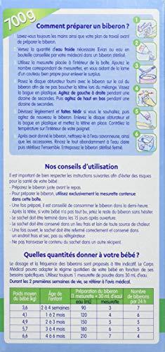 Laboratoire Gallia Galliagest Premium - Lait bebe 1er age en poudre de 0 a 6 mois 700 g - Pack de 4
