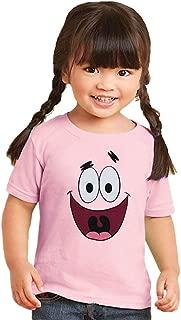 Animation Shops Spongebob Patrick Star Face Toddler T-Shirt