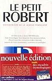 Le Petit Robert - Le Robert - 23/06/2003