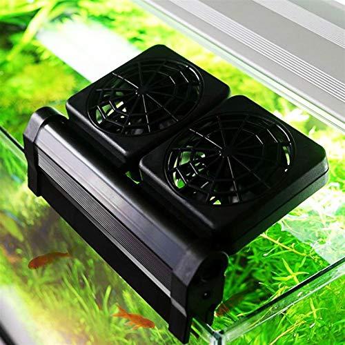 ScottDecor Suministros para Mascotas para Perros Acuario Ventilador de refrigeración del Acuario Cold Wind Chiller Productos de Control de Temperatura Ajustable Nivel 2 del Viento 1/2/3/4 Aficionados