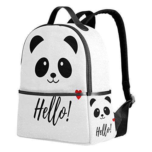 Use4 Hipster Cat Union Jack Polyester Backpack School Travel Bag (Color12)