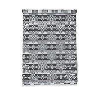 ローリングスクリーン モダンでシンプルなソフトガーゼカーテンブロックライトオフィスキッチンバスルームカーテンダブルジャカードローラーブラインド 絶縁カーテン (Color : Gray, Size : 150x150cm)