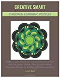 Creative Smart Children Learning Puzzles: Perfect Game Workbook Includes Word Searches and Also Junior Sudoku Plus Scramble Word Discovery Puzzles for Intelligent Children and Kids
