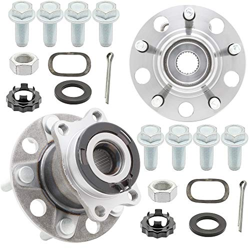 Price comparison product image [2-Pack] 512333K REAR Wheel Hub Bearing Assembly Repair Kit Compatible With 2007-2008 Dodge Caliber [AWD Models ONLY],  [Jeep] 2007-2017 Compass [4WD Models ONLY],  2007-2017 Patriot [4WD Models ONLY]
