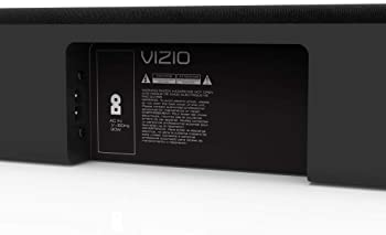 "VIZIO 2.1 Sound Bar SB3821-C6 with Wireless Subwoofer Bluetooth 100dB SPL, Black, 38"""