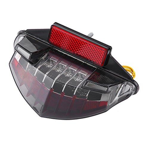 Feux Arrière, Keenso Lampe de Plaque d'Immatriculation Feux LED Clignotants Lumière de Frein Feus de Queue Feux de Signalisation Feux d'Avertissement Lumière d'Arrêt