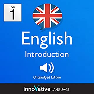 Learn British English - Level 1: Introduction to British English - Introduction English, Volume 1: Lessons 1-25 Titelbild