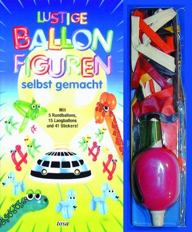 Lustige Ballonfiguren selbst gemacht, m. Luftballons u. Pumpe