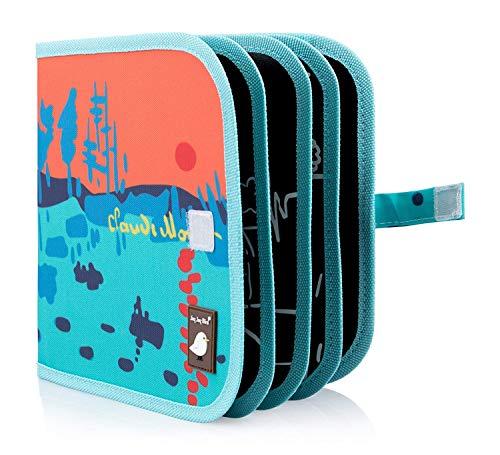 Jaq Jaq Bird CCB-MT Color It & Go Libro Cancellabile, 8' x 8', Multicolore (Monet)