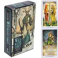 The Wild Wood Tarot Deck 78カード、普遍的な昔ながらの除去将来のゲームカード、運命予測カードセット(英語版)