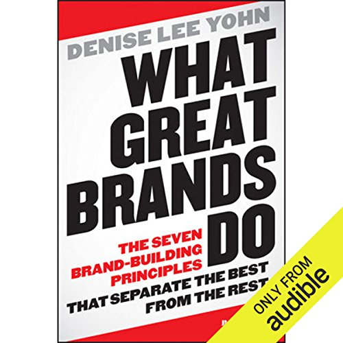 Couverture de What Great Brands Do