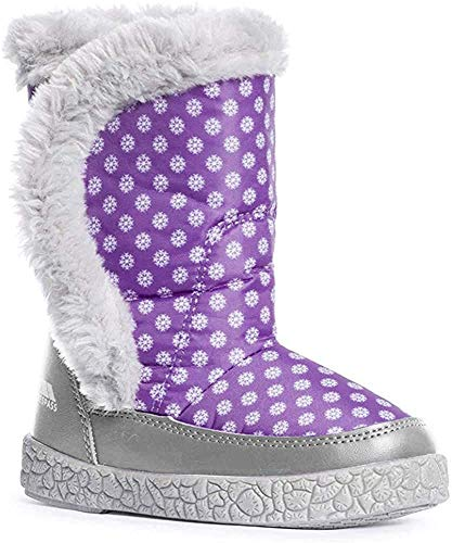 Trespass Tigan-Female Snow Boot, Botas de Nieve para Niñas