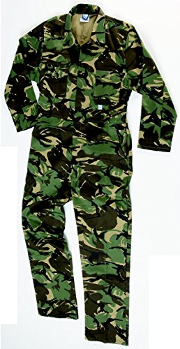 Kasteel Kleding 334 Camo Coverall Ketelpak X-Small Camo