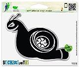Turbo Snail Boost Vinyl Sticker Small Window Bumper Phone Decal 3' x 2'