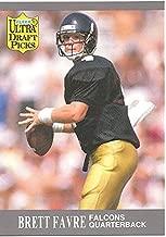 BRETT FAVRE ROOKIE CARD - 1991 FLEER ULTRA DRAFT PICKS FOOTBALL CARD #283 (ATLANTA FALCONS) FREE SHIPPING