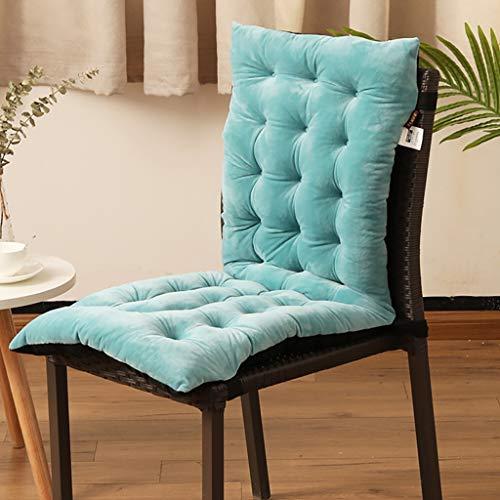 XIBALI Cojín para sillas de balcón o Asiento Exterior con Respaldo Alto,Suave y cómoda Silla de...