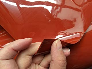 Wang shufang 1pc Rouge/Translucide/Noir Silicone Feuille de Caoutchouc 500x500mm 1mm Silicone for Bâche à Vide Presse rési...