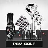 PGM Rio clubs de golf complète des Ensembles de golf, pour droitier, graphite Shaft # Mtg002, 13 clubs with stand bag
