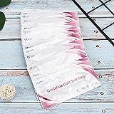 20 bandelettes de test de prédiction de fertilité sensible Home Précision Urine LH Test Bandelettes Indicateur de détection Test d'ovulation, bandelettes de test d'ovulation Tests de fertilité et d'o