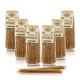 Antico Pastificio Morelli 1860 Srl Espaguetis Integrales, Pasta Italiana De Trigo Kamut Bio - Lote de 6 x 500g