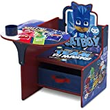 Delta Children Chair Desk with Storage Bin - Ideal for Arts & Crafts, Snack Time, Homeschooling, Homework & More, PJ Masks