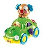 Fisher-Price - Coche Perrito Aprendizaje, Juguete con Sonido (Mattel X2146)