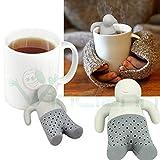 Colino Filtro infusore Man Tea omino Tazza tè Foglie The infusi Tisane camomilla