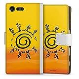 DeinDesign Étui Compatible avec Sony Xperia X Compact Étui Folio Étui magnétique Naruto...
