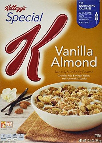 Kellogg's Special K Cereal  Vanilla Almond, 12.4 Oz