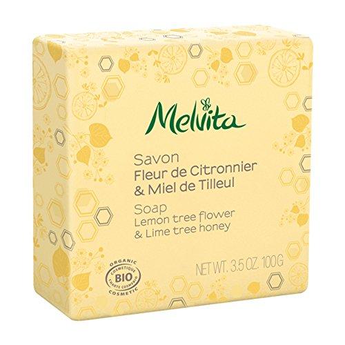 Melvita - Savon Visage Et Corps Bio 100g Melvita - Fleur De Citronnier & Miel De Tilleul