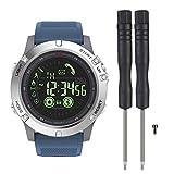 Zeblaze VIBE3 - Reloj Inteligente Impermeable con Bluetooth Super Long Standby Sport Smartwatch podómetro Pulsera Wristband calorías Tracker para Android e iOS Azul