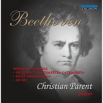 Beethoven: Sonatas: Tempest, Waldstein, Op.101