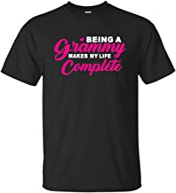 monstore Being A Grammy Makes My Life Complete Funny T-Shirt
