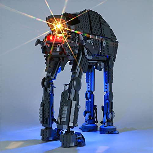 YaYashow Juego de luces LED para Lego 75189 Star Wars Heavy Assault Walker, juego de iluminación compatible con Lego 75189 (modelo no incluido)