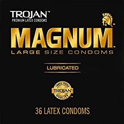 Extra large condoms in big pack.