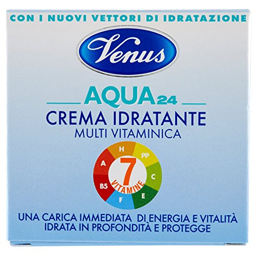 Venus - Acqua 24, Crema Idratante Multivitaminica, 50 ml