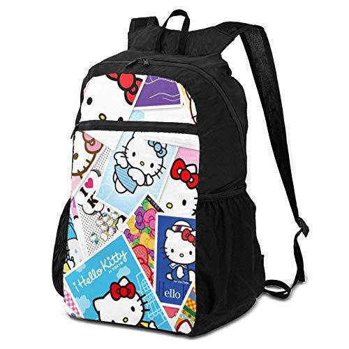 Hello Kitty Wings - Bapa personalizable para portátil con Bapa, bolsa para ordenador portátil, mochila escolar impermeable