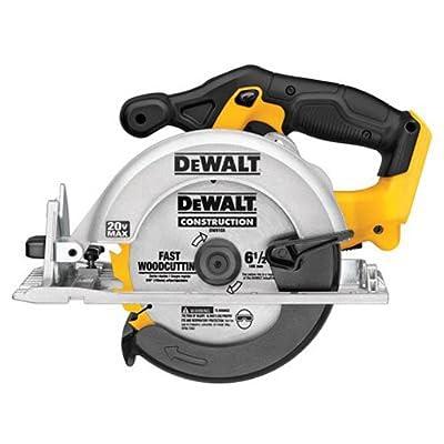 DEWALT 6-1/2-Inch 20V Max Circular Saw, Tool Only (DCS391B) by Dewalt