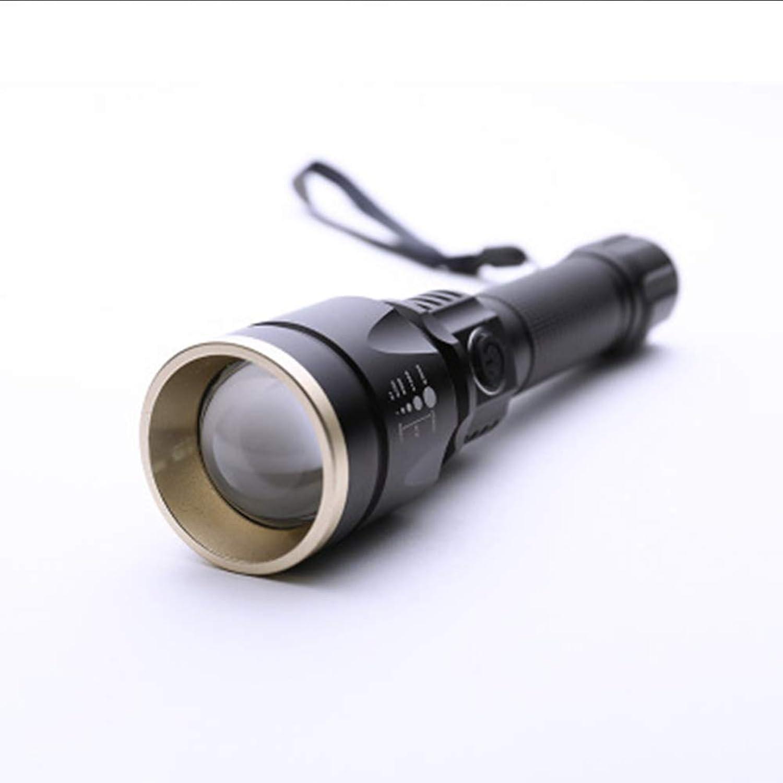 Bright Light Flashlight LED Charging Camping Hunting Super Bright LongRange Waterproof Riding Outdoor Equipment Flashlight