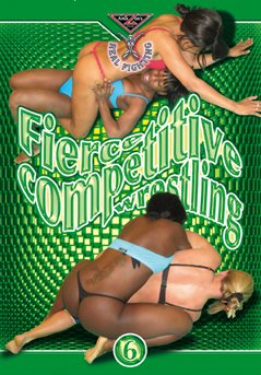 Real Fighting - FIERCE COMPETITIVE WRESTLING 6 DVD Amazon's Prod
