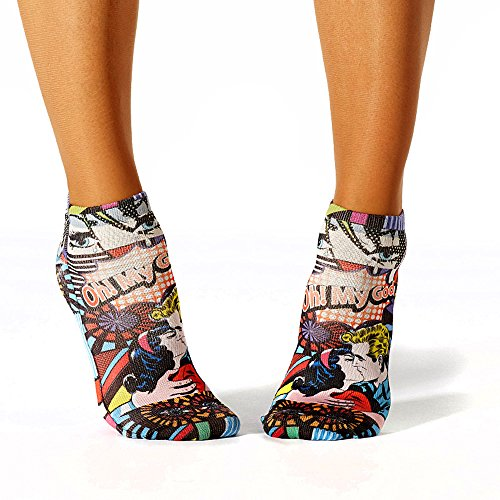 Wigglesteps Damen Sneaker-Socken - 024 Pop Art (1006-00609-502)