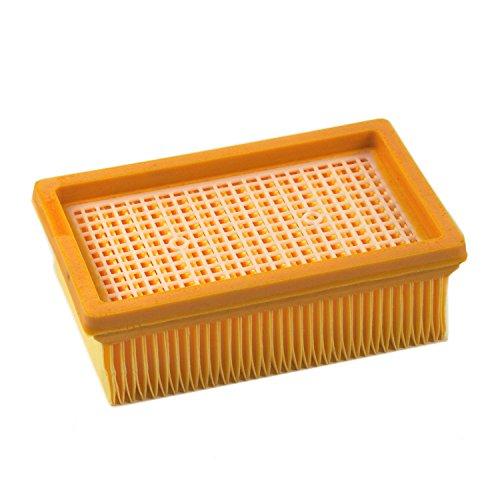 DeClean 1 Lamellenfilter Luftfilter Patronenfilter Filter Ersatz für Kärcher WD 5, WD 5 P, WD 5 Premium/Renovation Kit