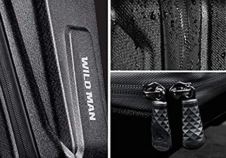 WILD MAN Hard Shell Rainproof Scooter Storage Bag for Kick Scooters Folding Bike Electric Scooter Self Balancing Scooters