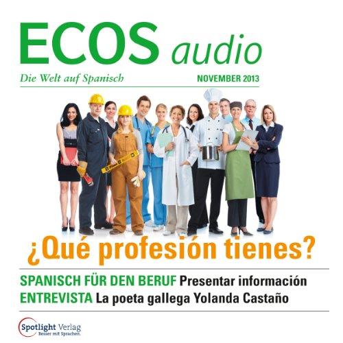 ECOS Audio - Qué profesión tienes? 11/2013 Titelbild
