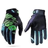 Guanti da corse motociclistiche per uomini e donne, adatti per attività all'aria aperta e motociclismo, con dita completamente coperte