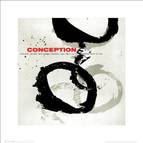 Miles Davis Conception Album-Cover Classic Jazz Trompeter Musik Icon-Poster Druck 40,6 x 40,6 cm