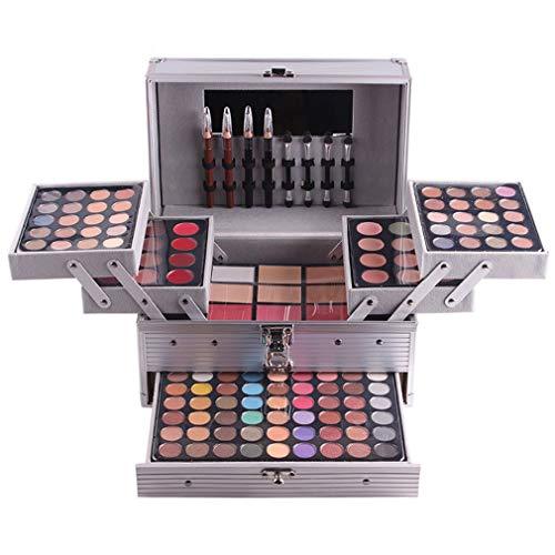 JasCherry 132 Farben Lidschatten Concealer Lipgloss powder foundation Pulver erröten Makeup Palette...